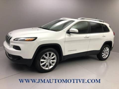 2015 Jeep Cherokee for sale at J & M Automotive in Naugatuck CT