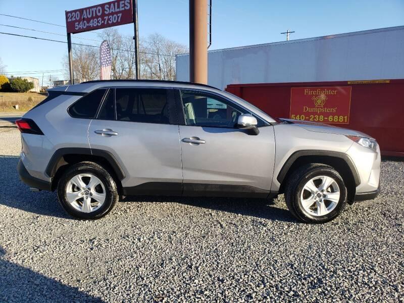 2020 Toyota RAV4 for sale at 220 Auto Sales in Rocky Mount VA