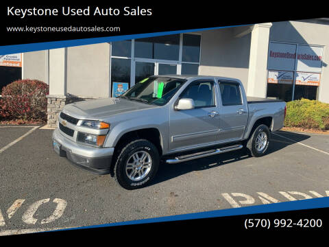 2010 Chevrolet Colorado for sale at Keystone Used Auto Sales in Brodheadsville PA