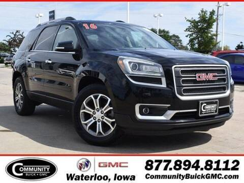 2016 GMC Acadia for sale at Community Buick GMC in Waterloo IA