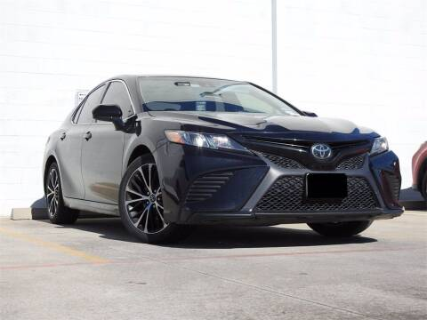2018 Toyota Camry for sale at Joe Myers Toyota PreOwned in Houston TX