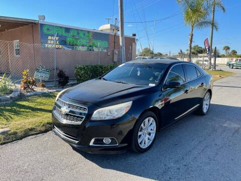 2013 Chevrolet Malibu for sale at Galaxy Motors Inc in Melbourne FL