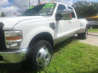 2010 Ford F-350 Super Duty for sale at DAN'S DEALS ON WHEELS in Davie FL