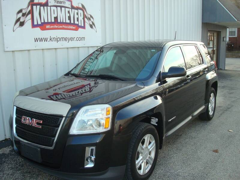 2014 GMC Terrain for sale at Team Knipmeyer in Beardstown IL