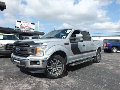 2019 Ford F-150 for sale at Automotive Credit Union Services in West Palm Beach FL