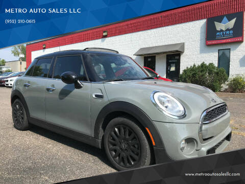 2016 MINI Hardtop 4 Door for sale at METRO AUTO SALES LLC in Blaine MN