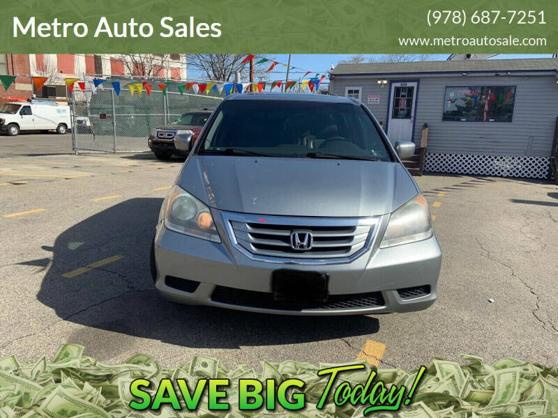 2010 Honda Odyssey for sale at Metro Auto Sales in Lawrence MA