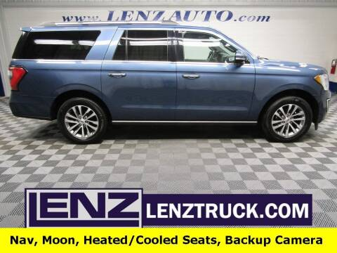 2018 Ford Expedition MAX for sale at LENZ TRUCK CENTER in Fond Du Lac WI