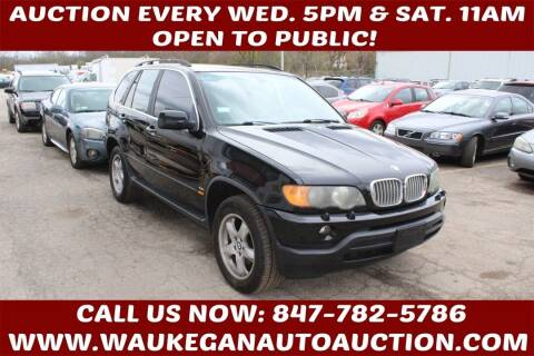 2003 BMW X5 for sale at Waukegan Auto Auction in Waukegan IL