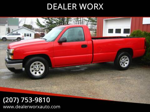 2006 Chevrolet Silverado 1500 for sale at DEALER WORX in Auburn ME