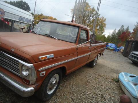 1969 Ford F-250 for sale at Marshall Motors Classics in Jackson Michigan MI