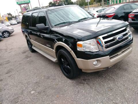 2007 Ford Expedition EL for sale at Gold Motors Auto Group Inc in Tampa FL