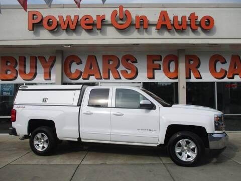 2017 Chevrolet Silverado 1500 for sale at Power On Auto LLC in Monroe NC