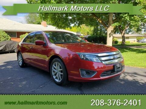 2011 Ford Fusion for sale at HALLMARK MOTORS LLC in Boise ID