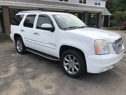 2008 GMC Yukon for sale at Oxford Auto Sales in North Oxford MA