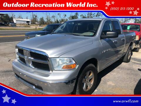 2011 RAM Ram Pickup 1500 for sale at Outdoor Recreation World Inc. in Panama City FL