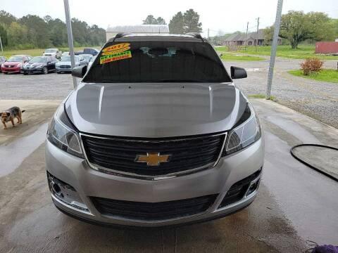 2017 Chevrolet Traverse for sale at Auto Guarantee, LLC in Eunice LA