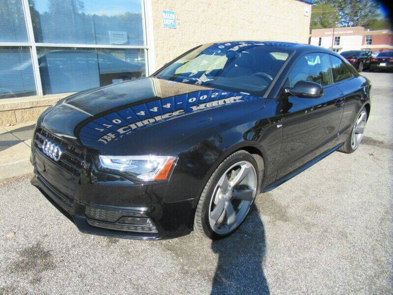 2016 Audi A5 for sale at Southern Auto Solutions - 1st Choice Autos in Marietta GA