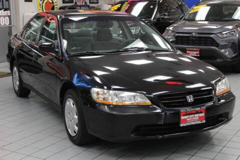 1998 Honda Accord for sale at Windy City Motors in Chicago IL