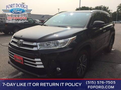 2018 Toyota Highlander for sale at Fort Dodge Ford Lincoln Toyota in Fort Dodge IA