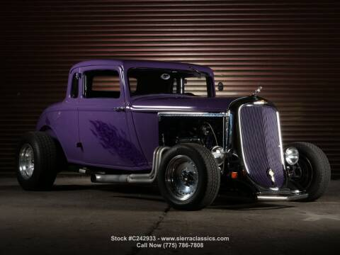 1933 Dodge 5 Window Coupe for sale at Sierra Classics & Imports in Reno NV