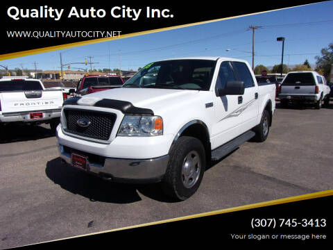 2005 Ford F-150 for sale at Quality Auto City Inc. in Laramie WY