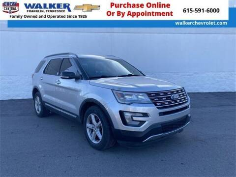 2016 Ford Explorer for sale at WALKER CHEVROLET in Franklin TN