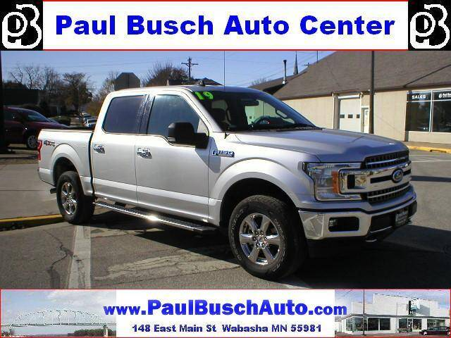 2019 Ford F-150 for sale at Paul Busch Auto Center Inc in Wabasha MN