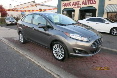 2014 Ford Fiesta for sale at PARK AVENUE AUTOS in Collingswood NJ