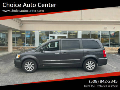 2015 Chrysler Town and Country for sale at Choice Auto Center in Shrewsbury MA