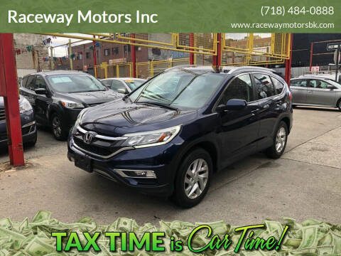 2016 Honda CR-V for sale at Raceway Motors Inc in Brooklyn NY