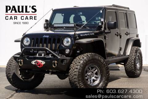 2017 Jeep Wrangler Unlimited for sale at Paul's Car Care in Manchester NH
