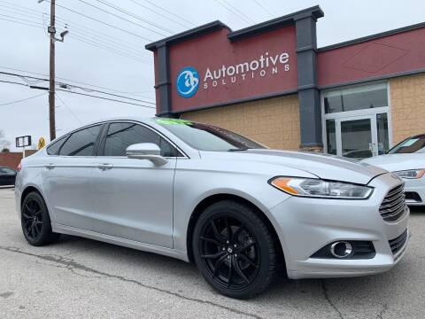 2014 Ford Fusion for sale at Automotive Solutions in Louisville KY