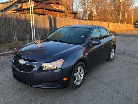 2013 Chevrolet Cruze for sale at JE Auto Sales LLC in Indianapolis IN