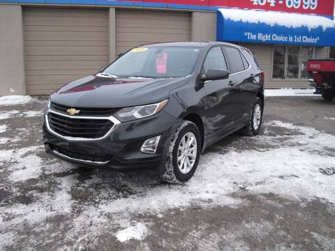 2019 Chevrolet Equinox for sale at 1st Choice Auto Inc in Green Bay WI