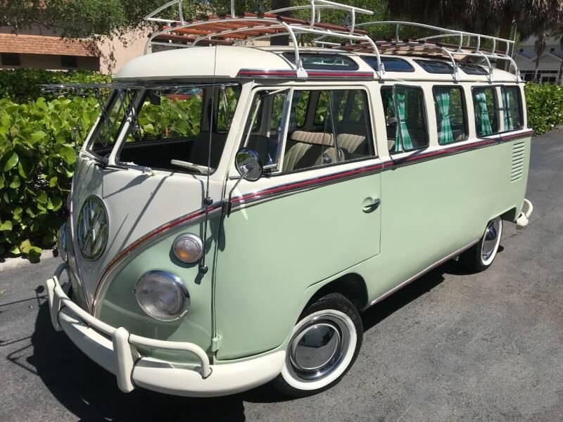 1972 Volkswagen Vanagon for sale at DS Motors in Boca Raton FL