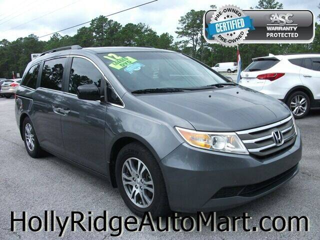 2012 Honda Odyssey for sale at Holly Ridge Auto Mart in Holly Ridge NC