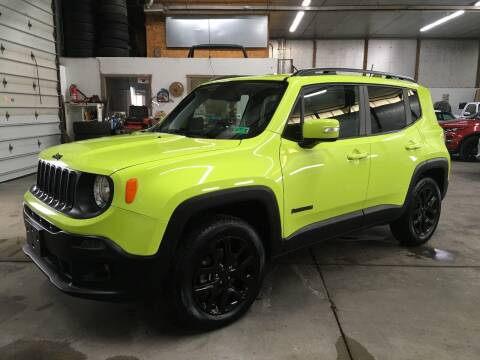 2018 Jeep Renegade for sale at T James Motorsports in Gibsonia PA