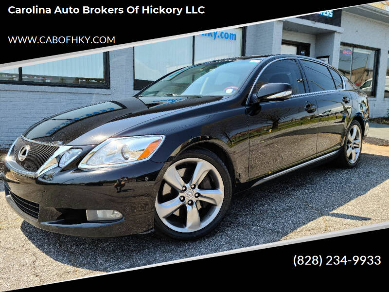 2009 Lexus GS 350 for sale at Carolina Auto Brokers of Hickory LLC in Newton NC