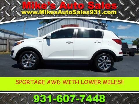 2016 Kia Sportage for sale at Mike's Auto Sales in Shelbyville TN