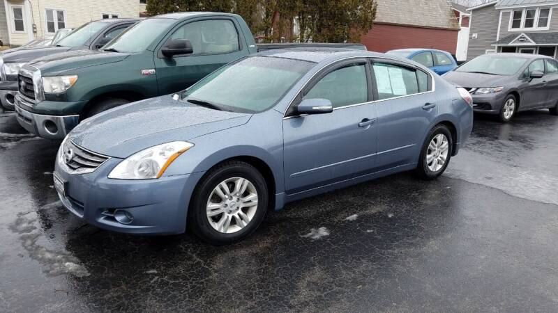 2010 Nissan Altima for sale at CURTIS AUTO SALES in Pittsford VT