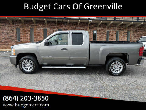 2008 Chevrolet Silverado 1500 for sale at Budget Cars Of Greenville in Greenville SC