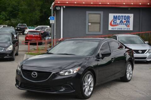 2017 Mazda MAZDA6 for sale at Motor Car Concepts II - Kirkman Location in Orlando FL