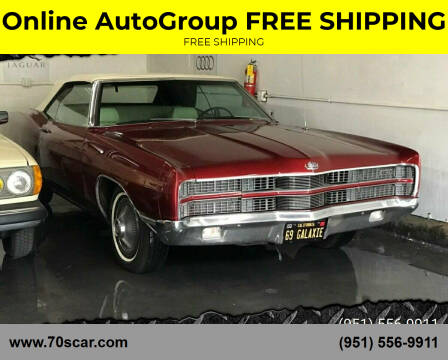 1969 Ford Galaxie for sale at Online AutoGroup FREE SHIPPING in Riverside CA