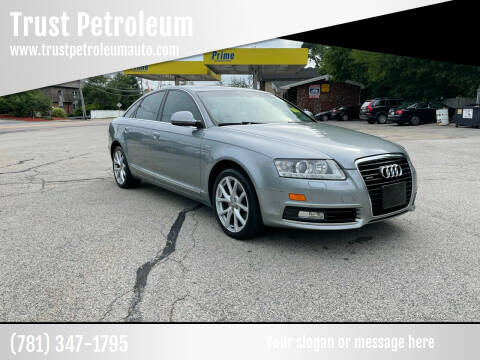 2010 Audi A6 for sale at Trust Petroleum in Rockland MA