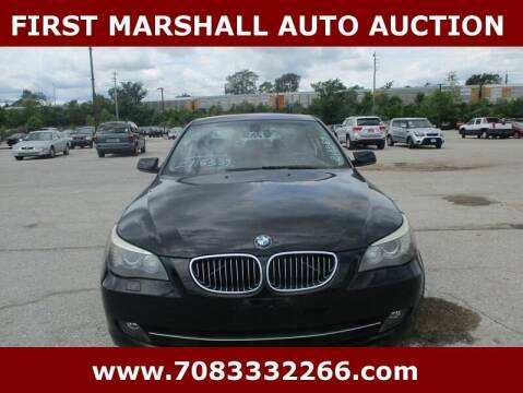 2008 BMW 5 Series for sale at First Marshall Auto Auction in Harvey IL