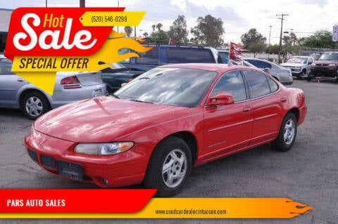 2000 Pontiac Grand Prix for sale at PARS AUTO SALES in Tucson AZ
