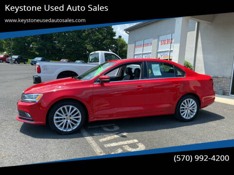 2015 Volkswagen Jetta for sale at Keystone Used Auto Sales in Brodheadsville PA