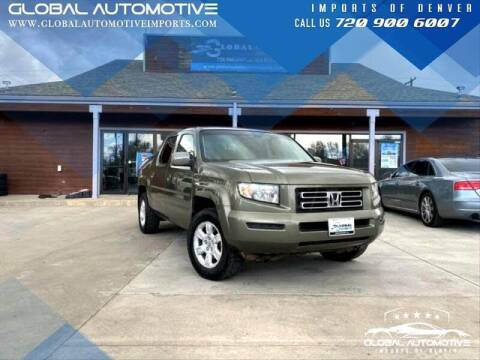 2007 Honda Ridgeline for sale at Global Automotive Imports of Denver in Denver CO
