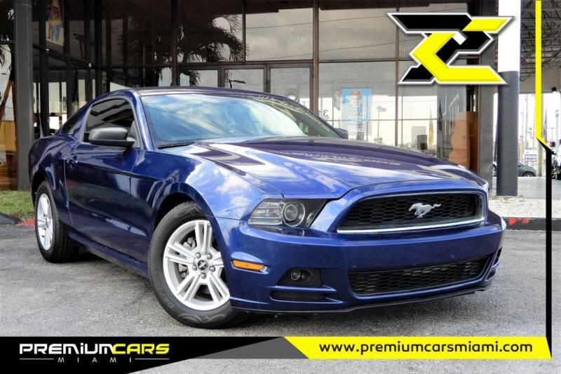 2014 Ford Mustang for sale at Premium Cars of Miami in Miami FL